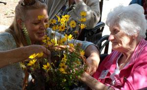 Arranging Wildflowers