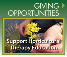 Support The Horticultural Therapy Institute