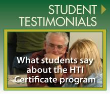 HTI Student Testimonials