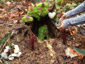 Fairy home at Skyland Trail